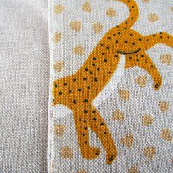 Protège carnet de santé - Gros pois Petits points - Artisanat textile français