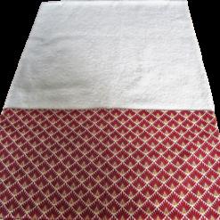 Tapis à langer - Gros pois Petits points - Artisanat textile français